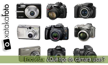 ¿Qué tipo y qué marca de cámara usas? Los resultados