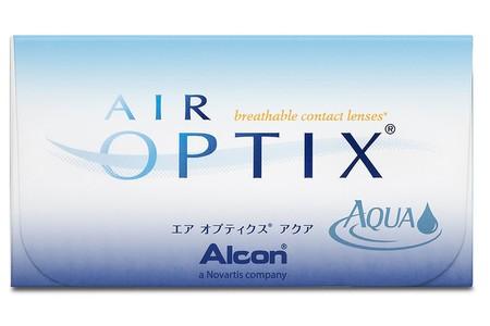 Pack de seis lentes de contacto mensuales Air Optix Aqua por 20,79 euros en Amazon