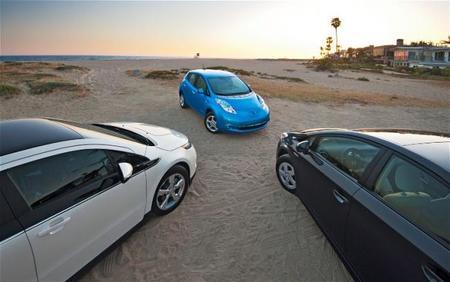 Comparativa de ventas, eléctricos contra híbridos
