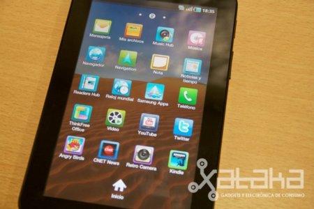 Samsung Galaxy Tab, el superteléfono: análisis a fondo