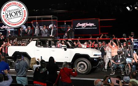 El primer Hummer EV Edition 1, subastado por 2,5 millones de dólares antes de producirse