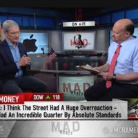 """""""Tuvimos un muy buen trimestre, pero no para Wall Street"""": Tim Cook"""