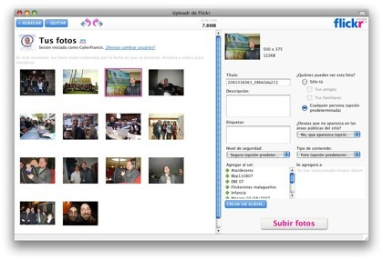 Flickr Uploadr 3.0 ya listo para su descarga