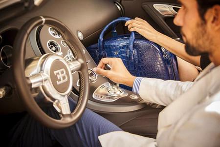 """La magia de Bugatti ahora también en una colección a la que han llamado """"Le tapis blue Bugatti"""""""
