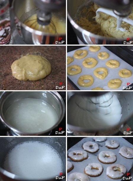 Elaboración de las rosquillas de Santa Clara