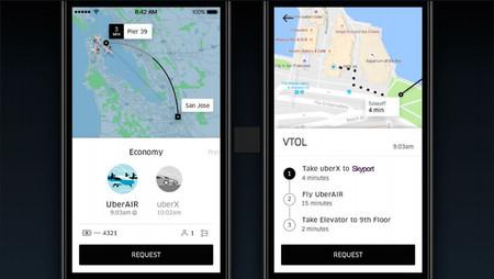 Uber Air App