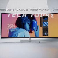 """Dell UltraSharp 40 U4021QW: 40 pulgadas de """"casi 5K"""" en una pantalla curva repleta de puertos"""