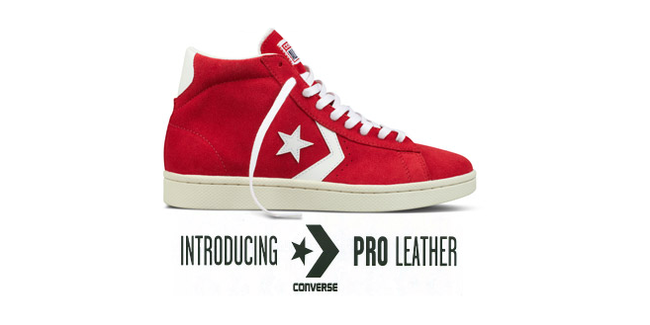 Converse Pro Leather Roja