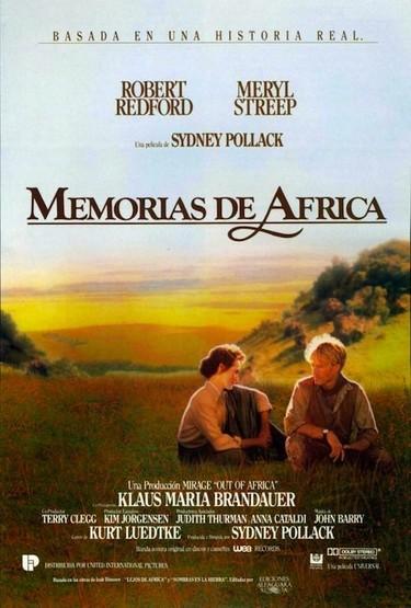 Moda de cine (III): Memorias de África