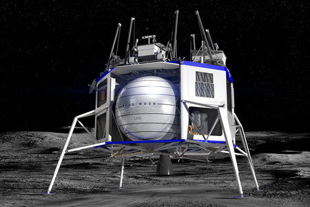 Blue Origin Moon Lander