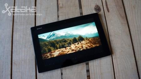 Xperia Tablet Z pantalla Bravia