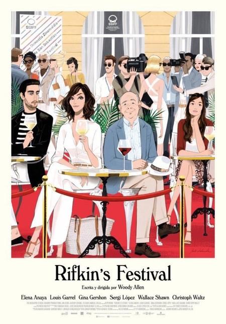 Jordi Labanda dibuja el cartel de la nueva película de Woody Allen y ojalá esto haga que se vuelva a poner de moda