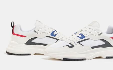 Estas Zapatillas Blancas De Bershka Estan Rebajadas Por Mitad De Temporada Y Son Justo Lo Que Tu Look De Primavera Necesita
