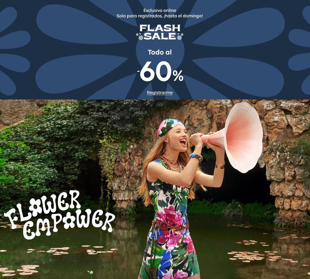 Flash Sale de Desigual, con descuentos del 60% en camisetas, vestidos, camisas o chaquetas para hombre y mujer