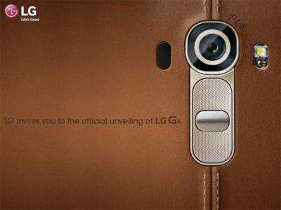 LG adelanta el diseño de cuero para el G4 y su cámara con abertura F1.8