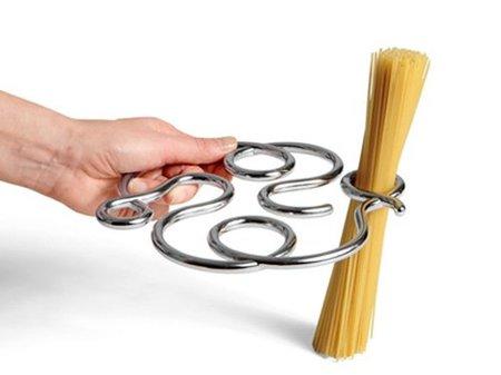 Medidor de espaguetis y salvamanteles