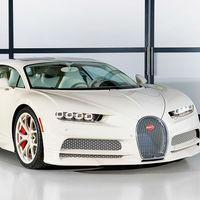 Este Bugatti Chiron Hermès Edition es único en el mundo y ha llegado a tiempo por Navidad para su afortunado dueño