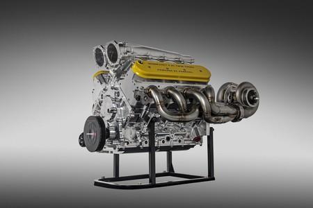 Hennessey presentó el motor V8 twin turbo de 7.6 litros con 1,600 hp que utilizará el Venom F5