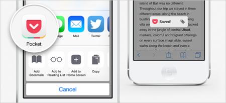 iOS 8 compartir