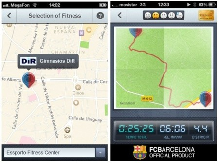 FCB Fitness seguimiento GPS
