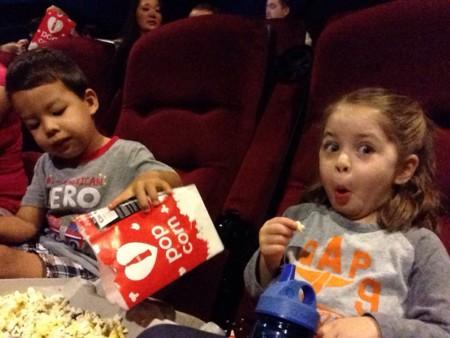 Nenes en el cine