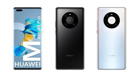 Huawei Mate 40 Pro Diseno
