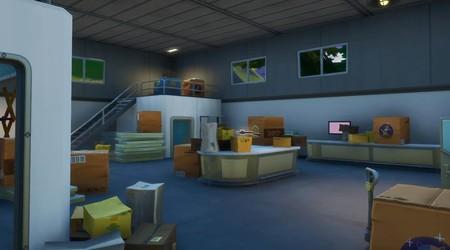 Desafío Fortnite: escóndete en una caja de cartón en la Fábrica de cajas. Solución