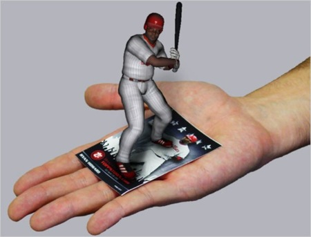 Topps 3D Live, los cromos con realidad aumentada
