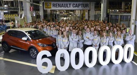 La fábrica de Renault en Valladolid produce el coche número 6.000.000