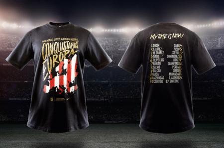 Nike lanza una camiseta conmemorativa del triunfo del Atlético de Madrid en la Europa League 2012