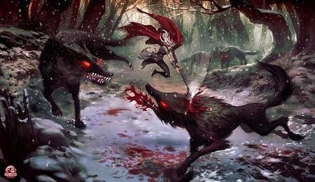 'Red'. American McGee pone un hacha en manos de La Caperucita Roja