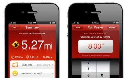 Nike lanza su aplicación Nike+ para los corredores