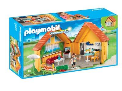 Para niños de 4-10 años: Playmobil Summer Fun Maletín Casa de campo por 24,99 euros y envío gratuito