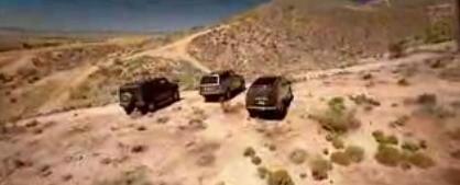 Europa vs América vol II: Range Rover, Cadillac Escalade y Hummer H2 por el desierto