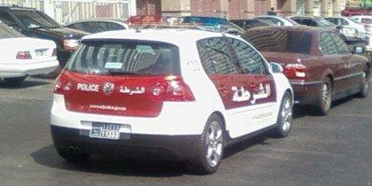 Volkswagen Golf GTi Policia Dubai