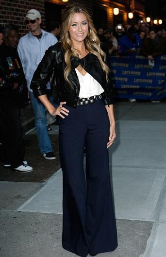 ¿Te atreves con unos maxi pantalones como los de Lauren Conrad?