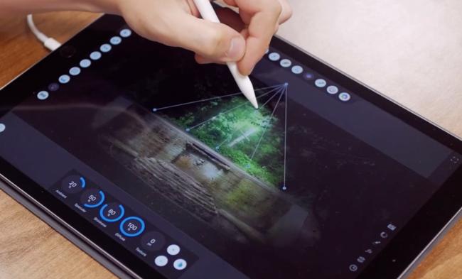 Affinity Photo en iPad