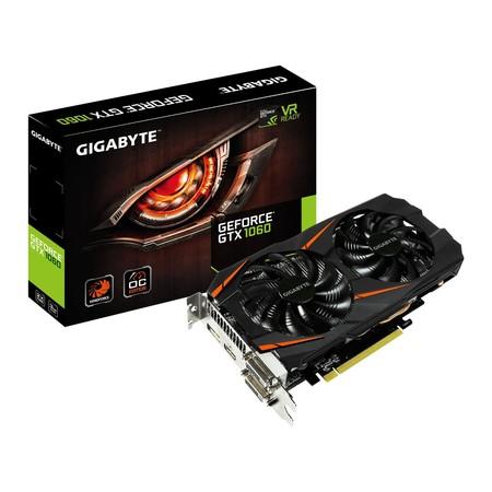 Tarjeta gráfica Gigabyte GeForce GTX1060 WindForce por 209 euros en MediaMarkt