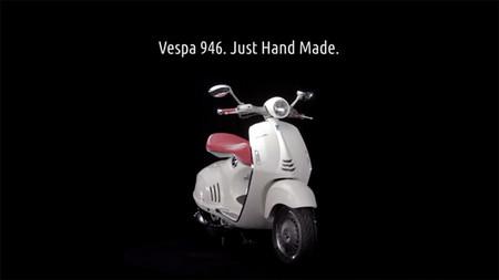 Vespa 946, hecha a mano en el siglo XXI