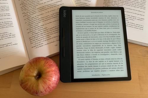 Kobo Forma, análisis: los lectores 'flagship' se cogen con una sola mano