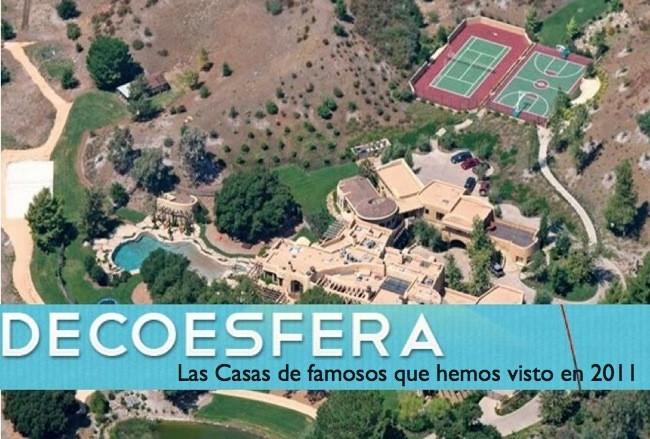 Las mejores casas de famosos que en 2011 hemos visto en for Las mejores casas de los famosos