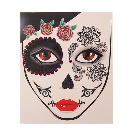 Tatuaje Calavera Mexicana Claires