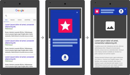 Google penalizará a los sitios web para móvil con install-ads de pantalla completa