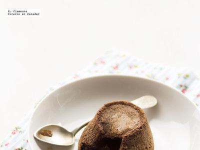 Coulant de chocolate y ron. Receta