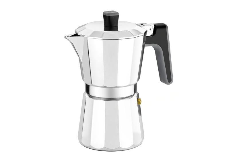 Cafetera de aluminio Inducción Perfecta Bra