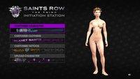 'Saints Row: The Third' y la tía desnuda que va por ahí sembrando el caos. Locura total