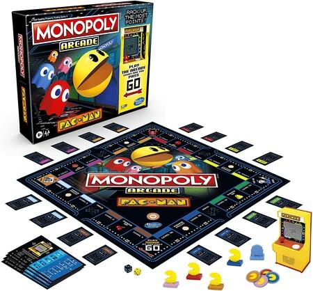 Juego de mesa Monopoly de Pac-Man