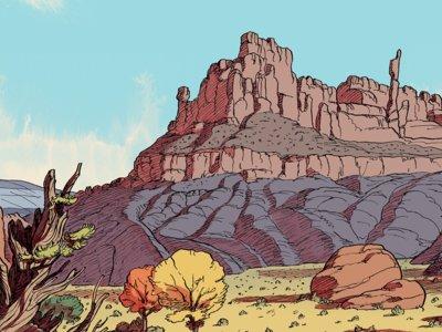 'El olor de los muchachos voraces': western atípico de Frederik Peeters