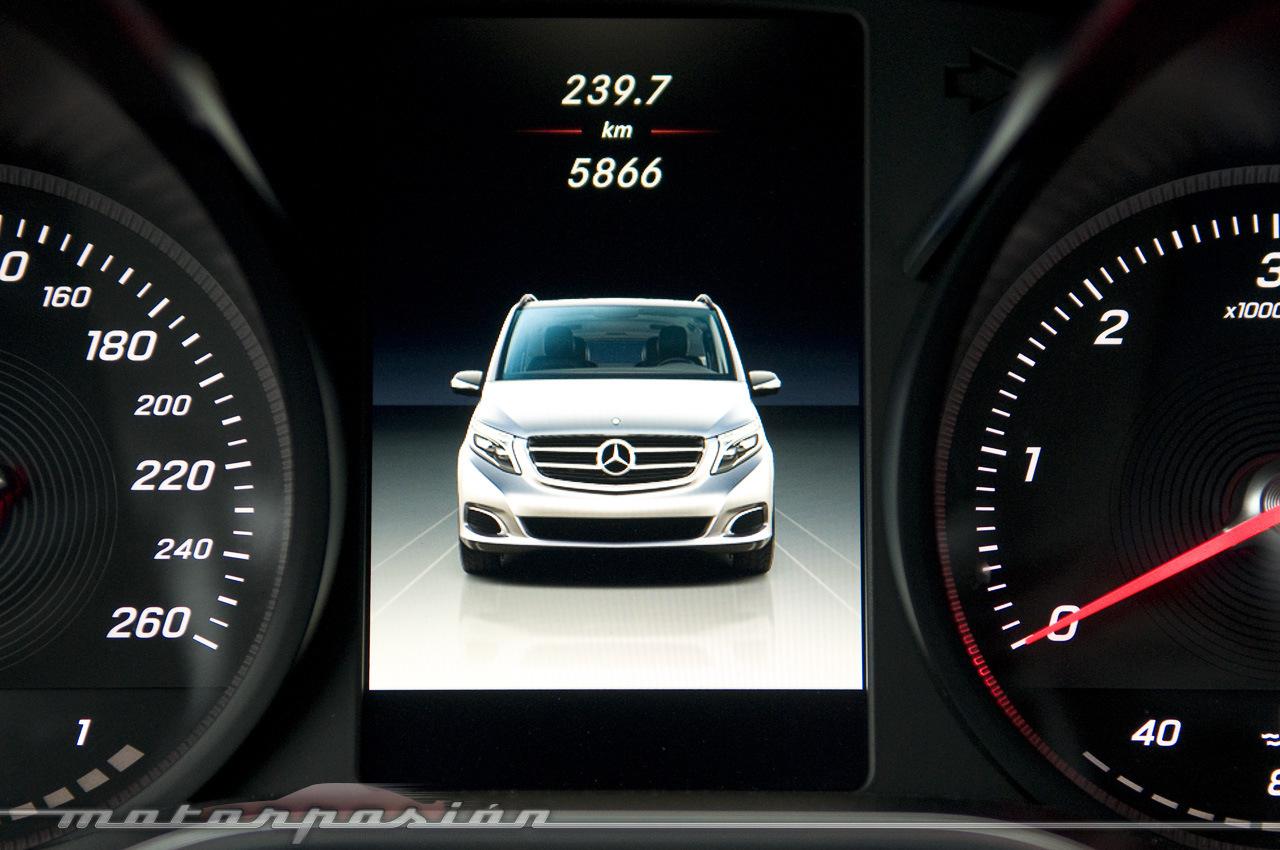 Foto de Mercedes-Benz Clase V (toma de contacto) (38/44)