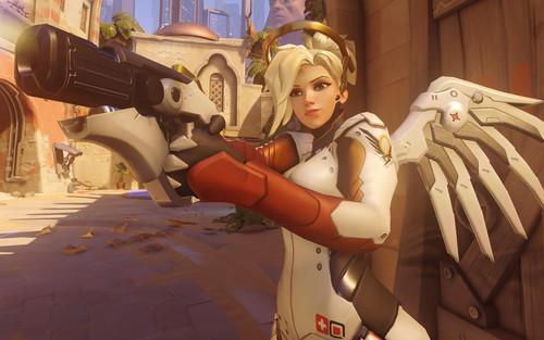 Overwatch: La nueva Mercy ahora es imparable y D.Va tendrá misiles en el PTR